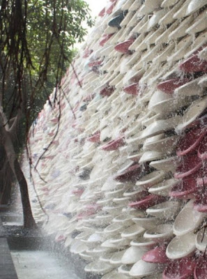 Unseen Weird Toilet Waterfall In China