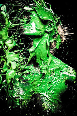 Creative Color Splashing Art