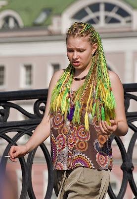 Strange Russian People