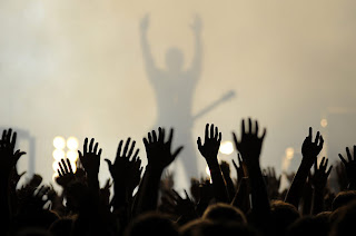 tenzind photojay: Repetion Hands In The Air Rock Concert
