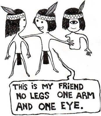 american indian cartoon