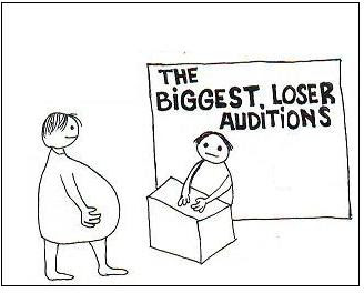 the biggest loser cartoon