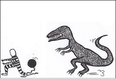 dinosaur,cop,prisoner,cartoon,webcomic