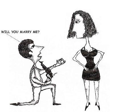 marriage proposal,cartoon