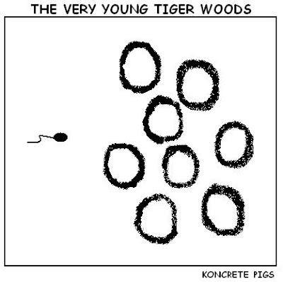tiger woods,cartoon,webcomic