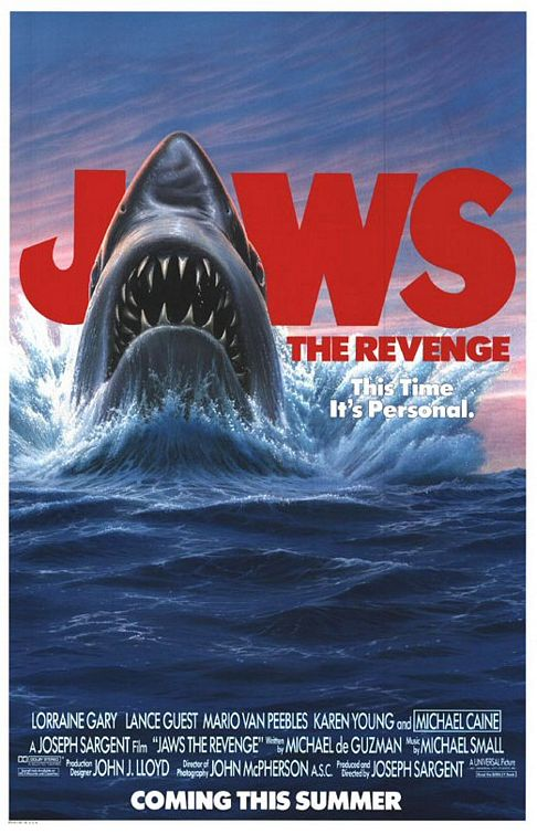 jaws 4 michael caine depth JAWS 4