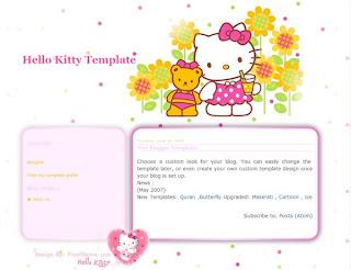 hello kitty template free