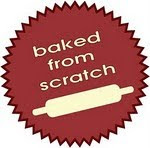 we proudly bake from scratch - check it out!