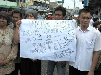 Protest Jalan search A Yani