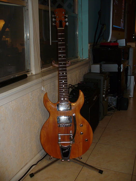 dave's 25 fret guitar