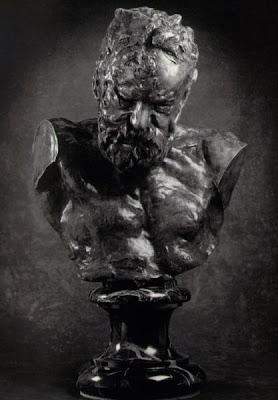 Busto de Victor Hugo, por Rodin