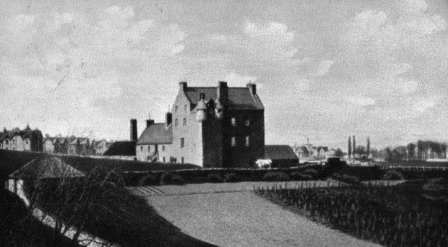 Perthshire Pitheavlis Castle Perthshire