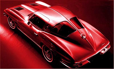 Corvette Stingray  Year on Muscle Car Reviews  1963 Corvette Stingray