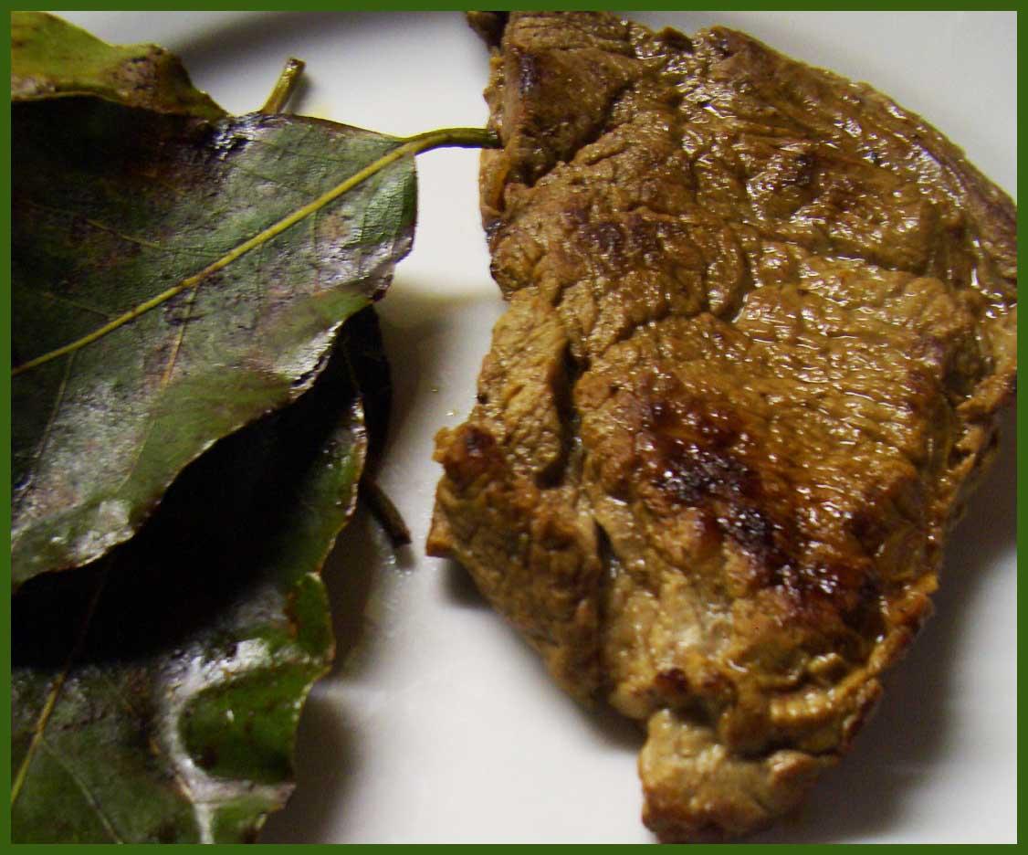 Die Lorbeerkrone BISTECCA ALL'ALLORO Lorbeer Steak
