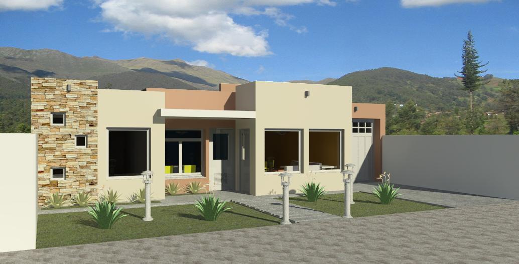 Estudio t cnico nq casa minimalista for Casa minimalista de un piso