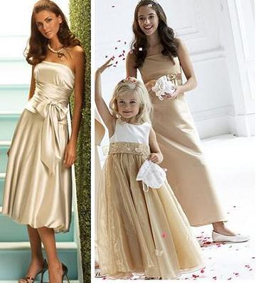 Bridal Galleria: Summer Bridesmaid Dress Colors