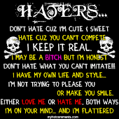 special to haters