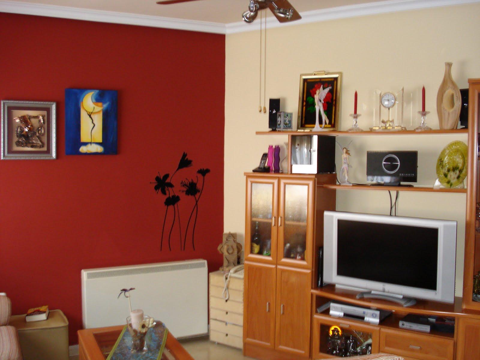 Decorar cuartos con manualidades decoracion y pintura de - Decoracion salones pintura ...