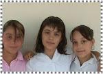 Karen, Gaby y Nayeli de 6º A