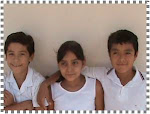 Rey  Arturo, Rosario y Alex 4º A