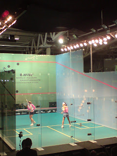 Nicol David v Madeleine Perry