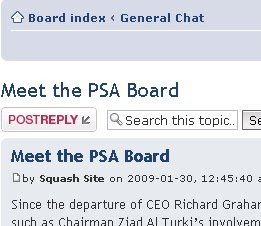 Put your questions to the PSA board