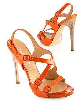 Mami! Que me pongo?! (Mamita) Orange-patent-stiletto-sandals