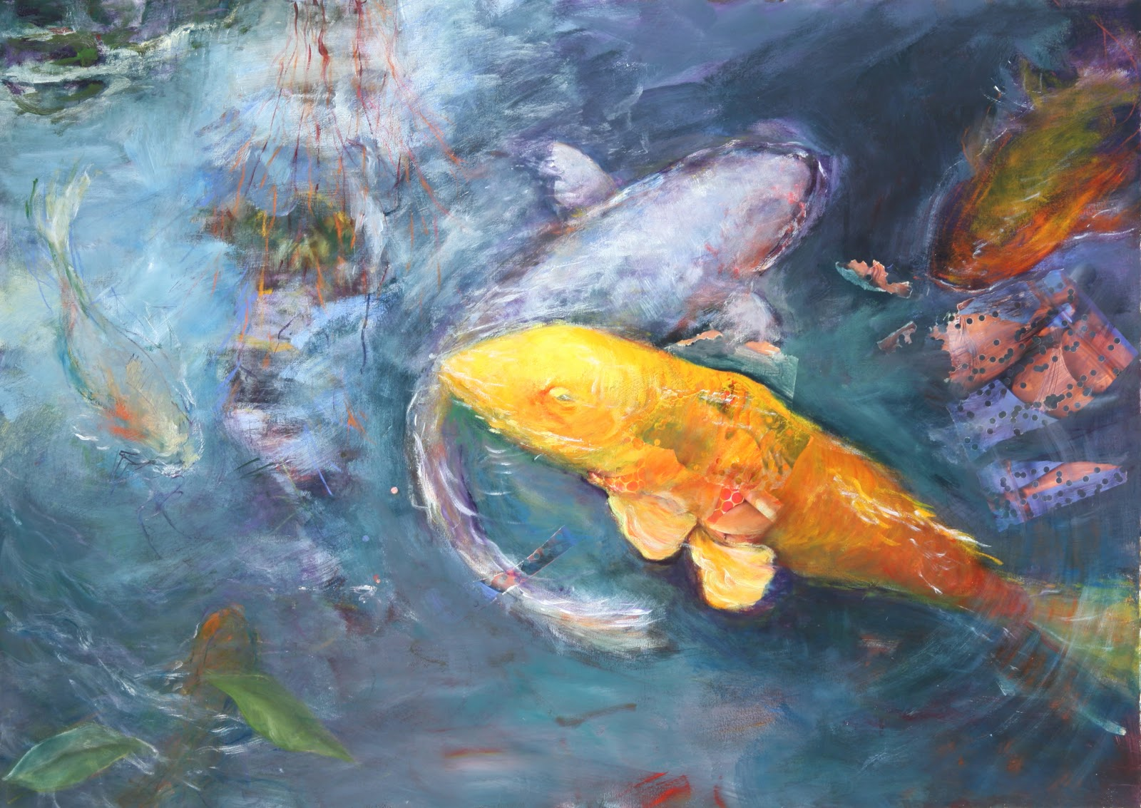 Nanci hersh artist big fish little pond for Big pond fish