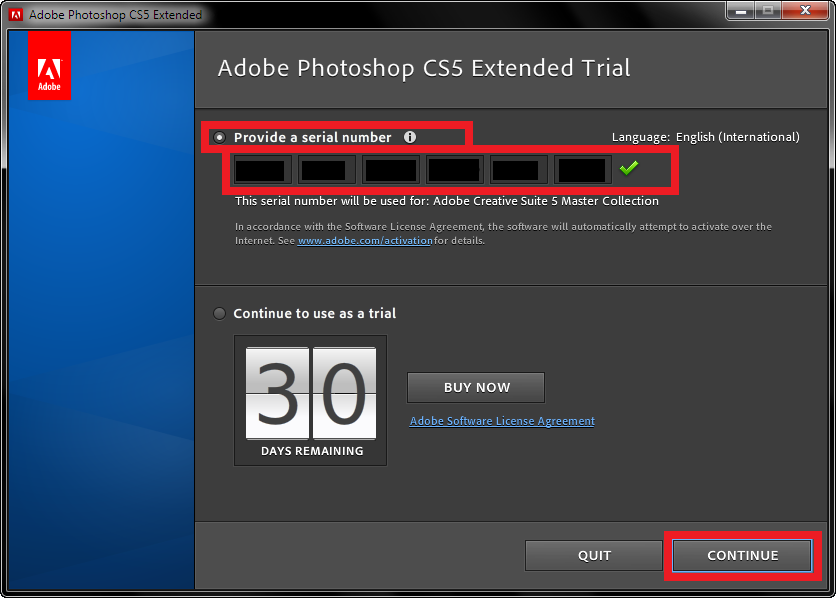 photoshop cs5 serial number for mac os x