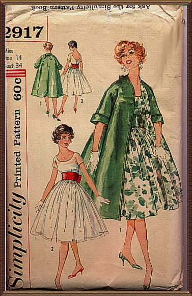 simplicity2917 Sewing Patterns Vintage
