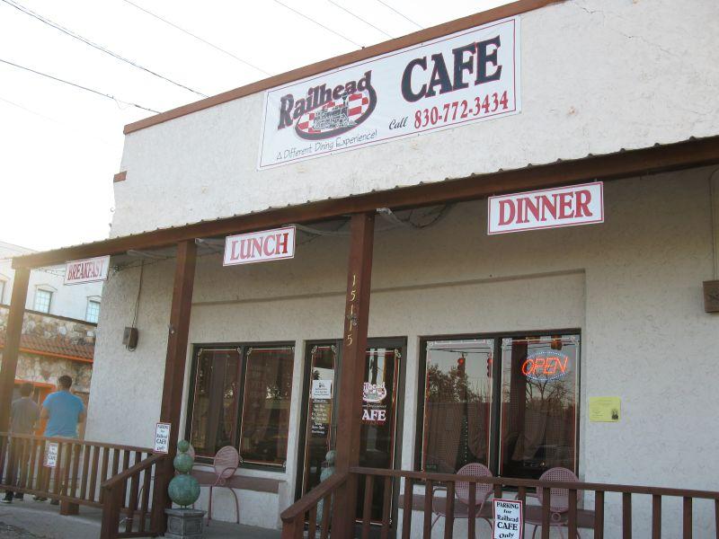Railhead Cafe Menu Lytle Tx
