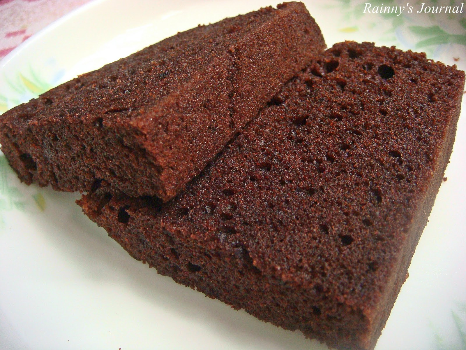 Rainny S Journal Steamed Moist Chocolate Cake
