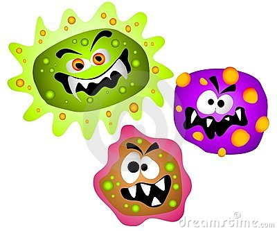 Germs viruses bacteria clipart thumb3131773