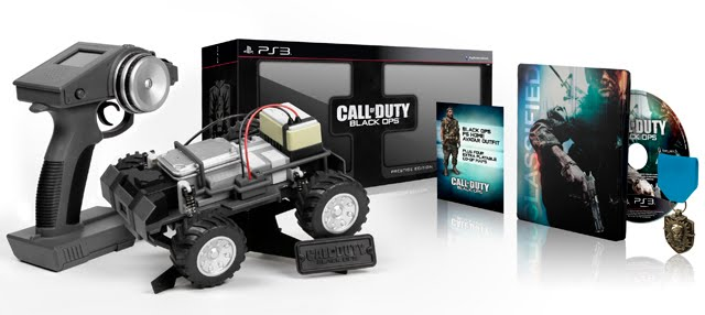 Black Ops Prestige Edition Car. The Prestige edition might get