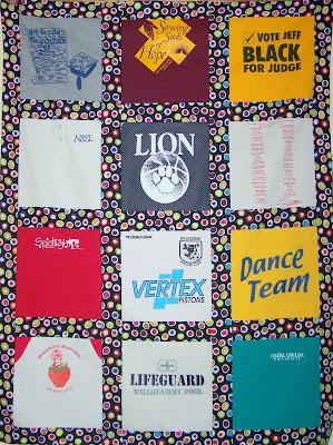 A Hippie T-Shirt Quilt