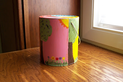 Painted Tin