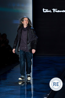 Mr.Francesc takes a bow after his Artificial Life Fashion Collection
