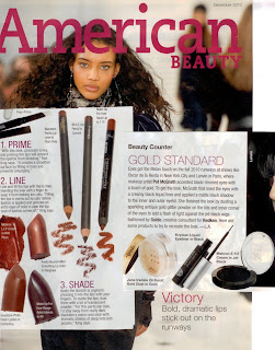 Mehron Beauty in American Beauty Magazine
