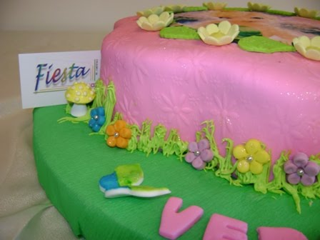Tortas y Pasteles Bianca: Pastel Torta de Campanita Tinkerbell