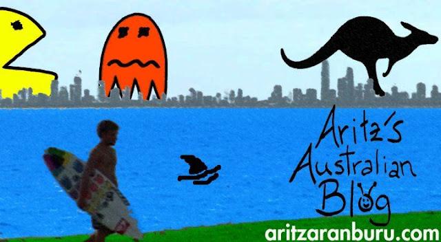 Aritz Aranburu videoblog: Australian blog teaser