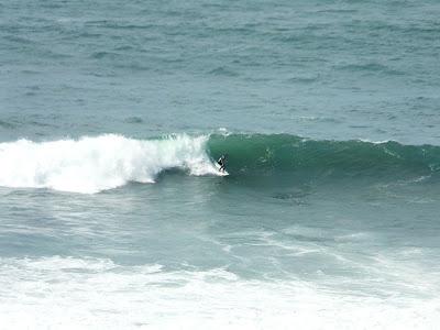 Sesión de surf del 11 de Agosto del 2008 - La Salvaje