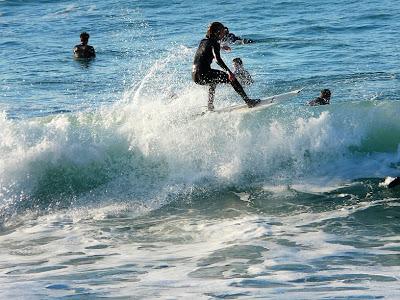 Sesion surf 11 Enero 2009 Sopelana