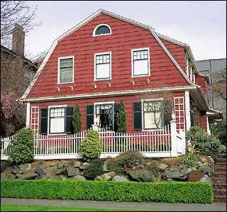 The old post road dutch colonial for Dutch style homes