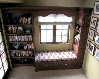 The old post road cozy little reading nook Window seat reading nook