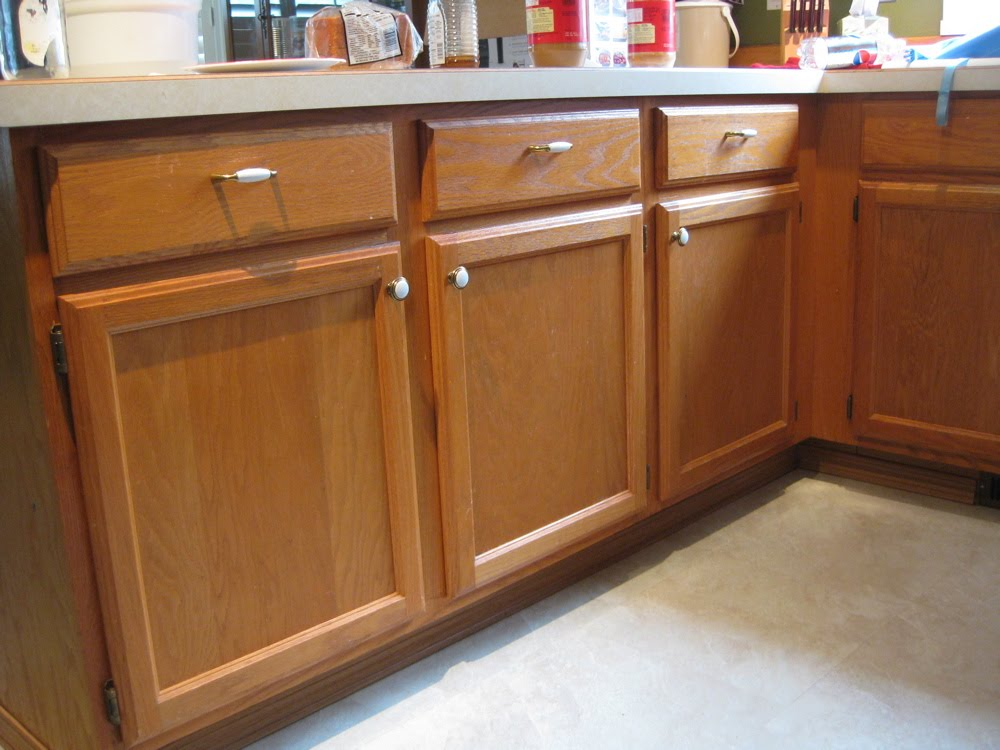 Handy Honey Kitchen Remodel Lower Cabinets