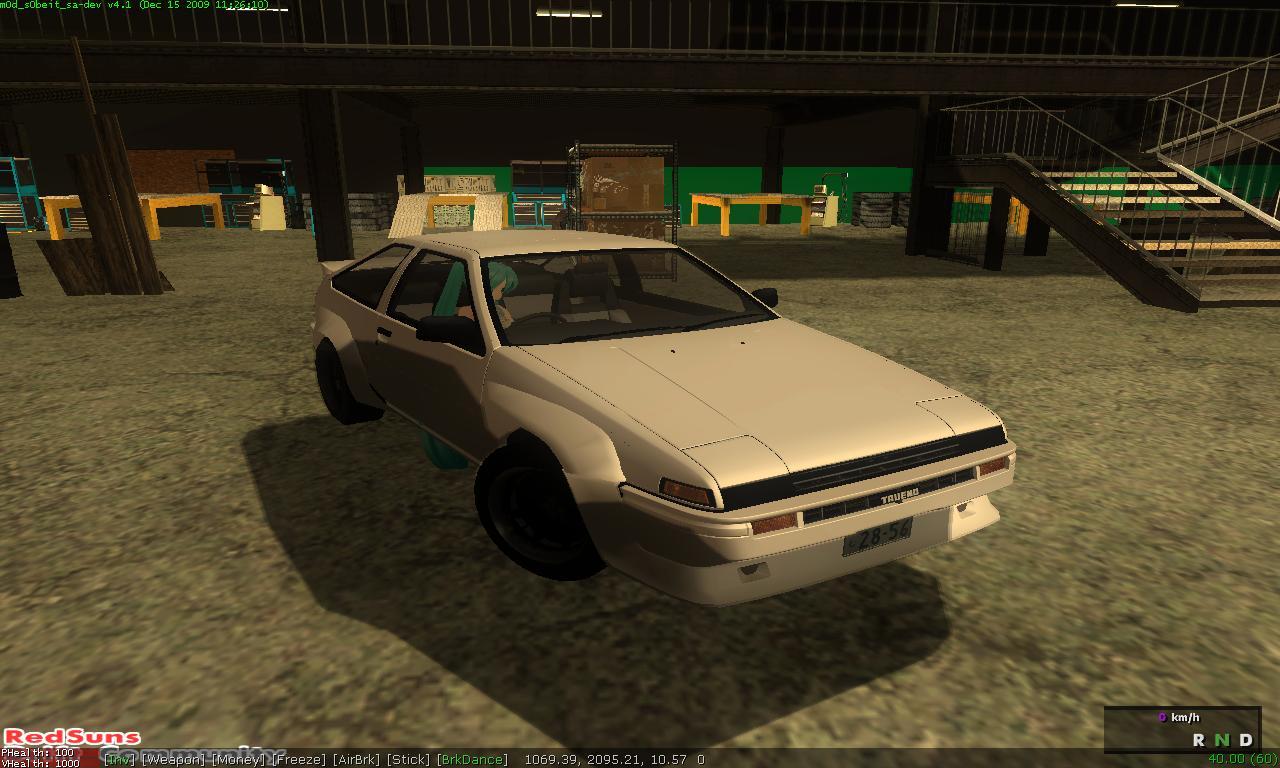 Gta mods toyota trueno ae86 trd for Toyota 86 exterior mods