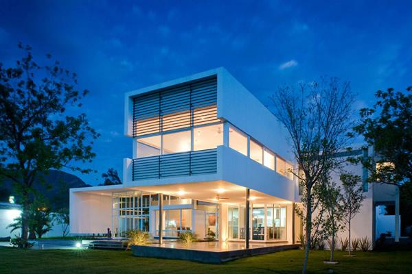 Futuro moderno novos modelos e tend ncias de casas modernas for Casa moderna 4 ambientes
