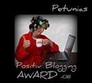 Petunias Award!