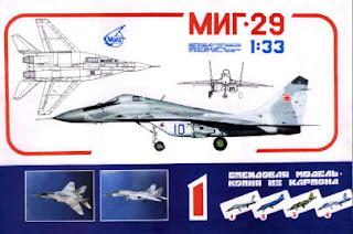 Paper Model MiG-29