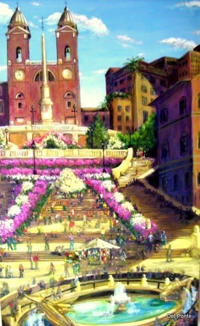 """"""" Spanish Steps """" Rome"""